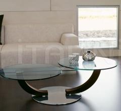 Журнальный столик Cobra inox фабрика Cattelan Italia