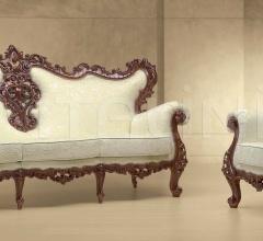 Трехместный диван PEGASO CON CENTRO 342/K фабрика Morello Gianpaolo