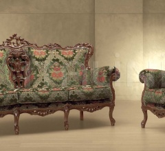 Трехместный диван MARGHERITA 579/K фабрика Morello Gianpaolo