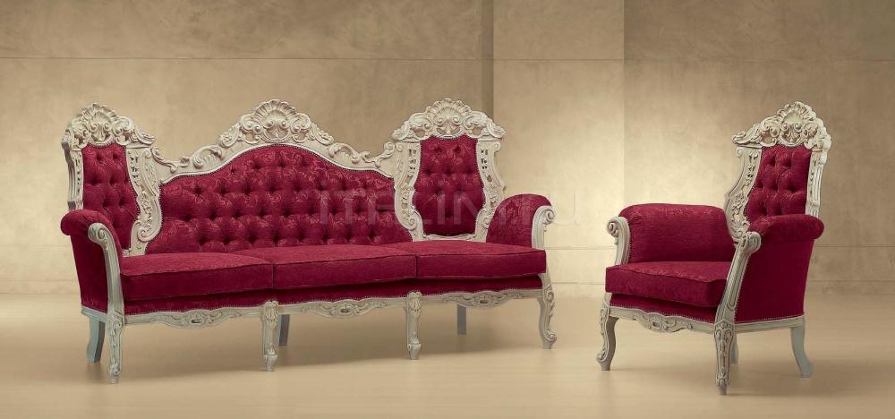 Трехместный диван LUNA 555/K Morello Gianpaolo