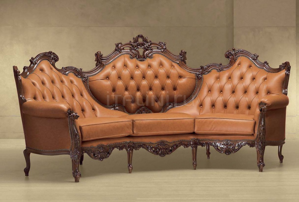 Трехместный диван VERSILIA CURVO 614/K Morello Gianpaolo