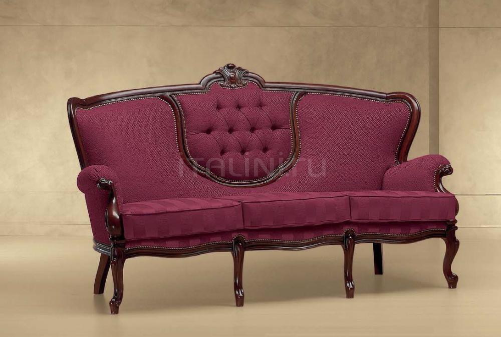 Трехместный диван FILIPPONE CON CENTRO 616/K Morello Gianpaolo