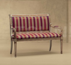 Двухместный диван BOBOLI INTARSIATO 617/K фабрика Morello Gianpaolo