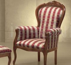 Кресло FILIPPO CON CRESTA 40/K фабрика Morello Gianpaolo