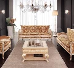 Двухместный диван BACARA' 1587/W фабрика Morello Gianpaolo