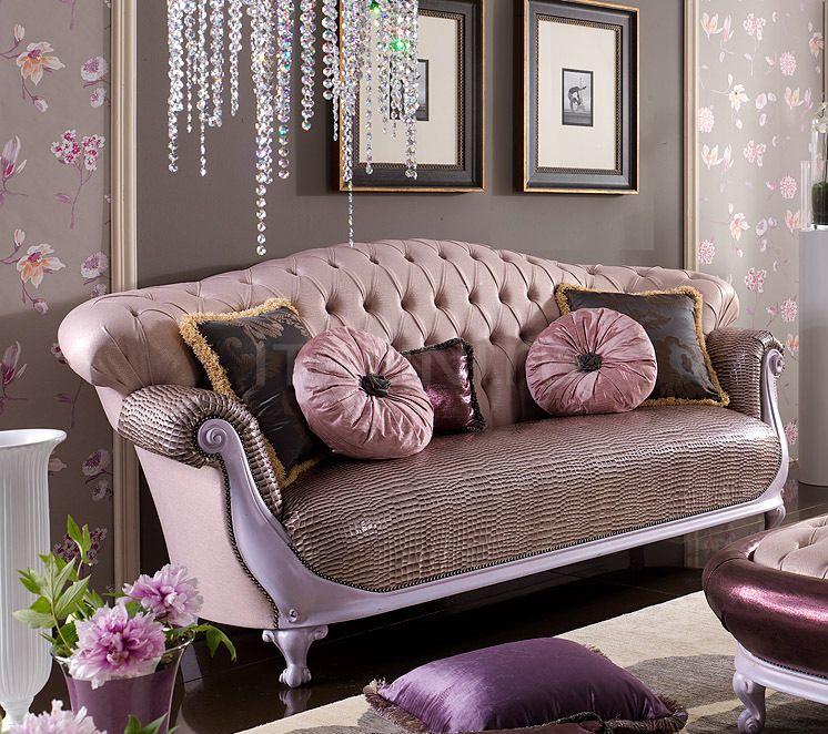 Трехместный диван CHESTER VANITY 1352/W Morello Gianpaolo
