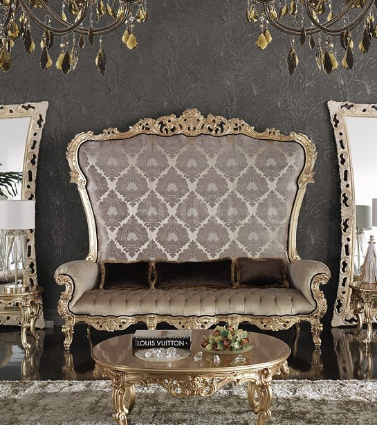 Трехместный диван Seater MOONLIGHT 1704/WD3 Morello Gianpaolo