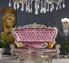 Трехместный диван LUXURY PINK 1747/W фабрика Morello Gianpaolo