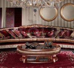 Столик журнальный ACANTO TOP GLASS 1845/W фабрика Morello Gianpaolo