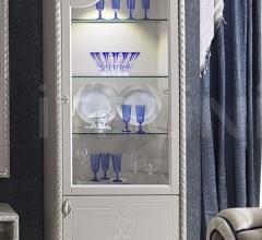 Витрина GLASS SHELVES RIGHT NAVY 2030/W фабрика Morello Gianpaolo