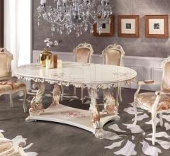 Стол обеденный BAROCCO 1544/W фабрика Morello Gianpaolo