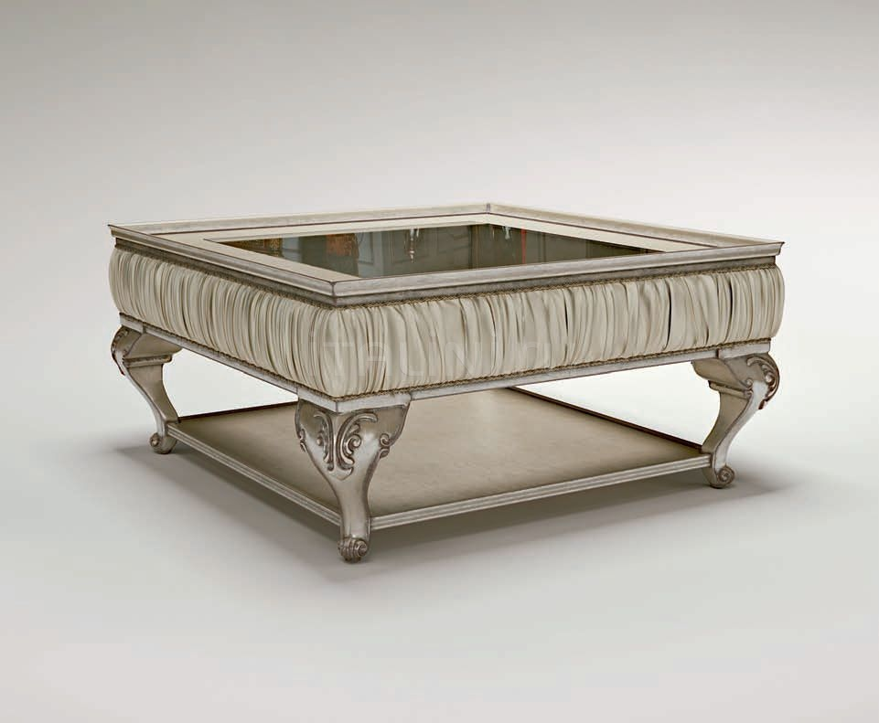 Квадратный столик Platinum Passepartout Bruno Zampa