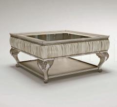 Квадратный столик Platinum Passepartout фабрика Bruno Zampa