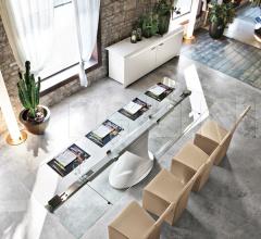 Раздвижной стол Shanghai 8062 фабрика Tonin Casa