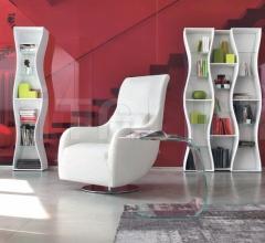 Кресло Nolita AT111R фабрика Tonin Casa