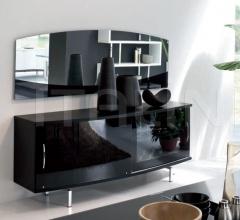 Настенное зеркало Isola 7509 фабрика Tonin Casa