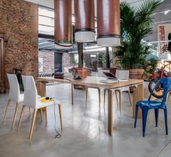 Фиксированный стол Roma 8068 F фабрика Tonin Casa