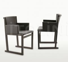 Итальянские стулья, табуреты - Стул с подлокотниками Musa фабрика Maxalto (B&B Italia)
