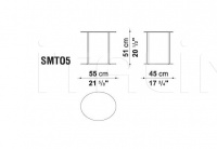 Столик ELIOS SMTO5S B&B Italia