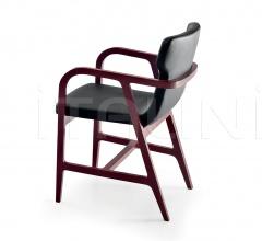 Итальянские стулья, табуреты - Стул с подлокотниками Fulgens фабрика Maxalto (B&B Italia)