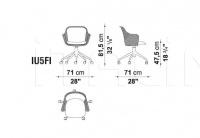 Кресло IUTA IU5 B&B Italia