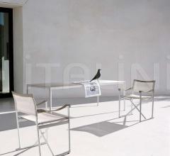 Итальянские уличные стулья - Стул с подлокотниками MIRTO OUTDOOR MI59SR фабрика B&B Italia