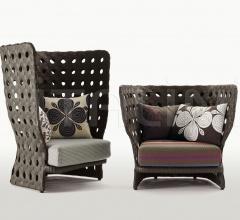 Итальянские кресла - Кресло CANASTA CN98PA фабрика B&B Italia