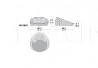 Кресло CANASTA CNC160P1 B&B Italia