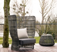 Итальянские кресла - Кресло CANASTA CNC98PA/CNC98PB фабрика B&B Italia