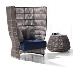 Итальянские уличные кресла - Кресло CANASTA CNC98PA/CNC98PB фабрика B&B Italia