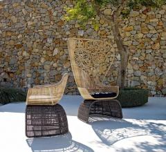 Итальянские уличные кресла - Кресло CRINOLINE C5C фабрика B&B Italia