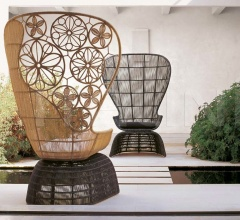 Итальянские кресла - Кресло CRINOLINE C5P фабрика B&B Italia