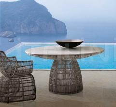 Итальянские столы - Круглый стол CRINOLINE фабрика B&B Italia