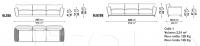Модульный диван LUIS B&B Italia