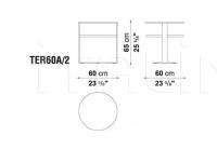 Кофейный столик EILEEN TER60A_2 B&B Italia