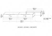 Модульная система ATHOS B&B Italia