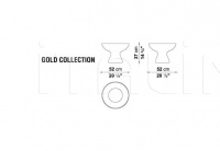 Ваза GOLD COLLECTION AB20047N B&B Italia