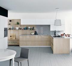 Итальянские угловые кухни - Кухня Mila 01 фабрика Cesar