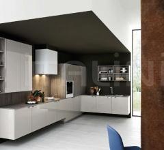 Итальянские угловые кухни - Кухня Ariel 02 фабрика Cesar