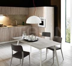Итальянские угловые кухни - Кухня Ariel 06 фабрика Cesar