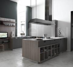 Итальянские угловые кухни - Кухня Kora 07 фабрика Cesar