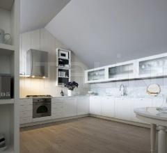 Итальянские угловые кухни - Кухня Noa 05 фабрика Cesar