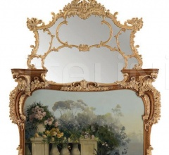 Камин с зеркалом FIR-100CQ фабрика Jumbo Collection