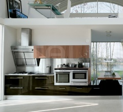 Кухня Dinamica 4 фабрика Antares Cucine