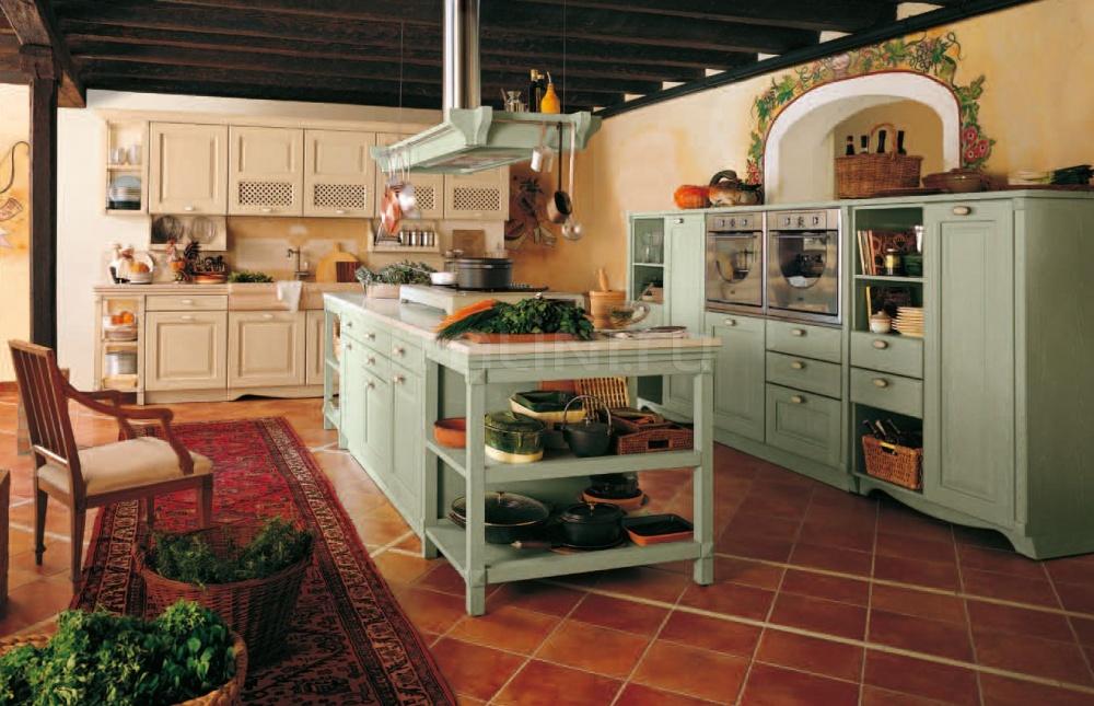 Кухня Verde antico cipria Antares Cucine