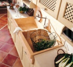 Кухня Verde antico cipria фабрика Antares Cucine