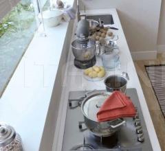 Итальянские угловые кухни - Кухня Dialogo фабрика Veneta Cucine
