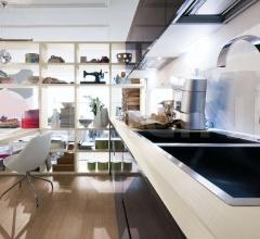 Итальянские угловые кухни - Кухня Carrera.Go Attivita Laboratorio фабрика Veneta Cucine