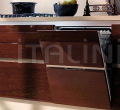 Итальянские угловые кухни - Кухня Carrera.Go Attivita Abierta Al Mundo фабрика Veneta Cucine