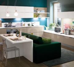 Итальянские угловые кухни - Кухня Carrera.Go Connessioni фабрика Veneta Cucine
